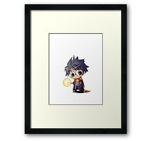 Harry Potter cute chibi Framed Print