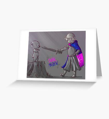 The Bear & The Maiden Fair Greeting Card