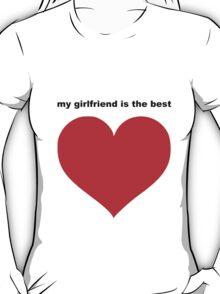 best girlfriend T-Shirt