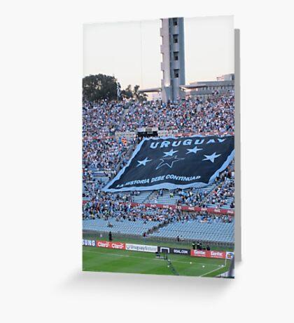 Uruguay- La Historia Debe Continuar Greeting Card