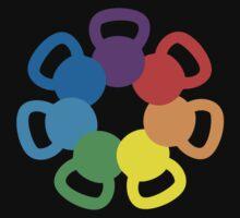 Rainbow Kettlebell by gyenayme