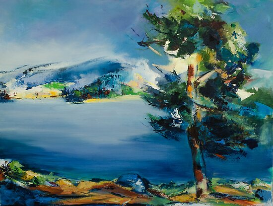 By the Lake by Elise Palmigiani