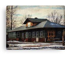 Wurtsboro Railway Station Canvas Print