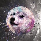 Dogecoin to the Moon - Coloured - Phone Case by Bocaci