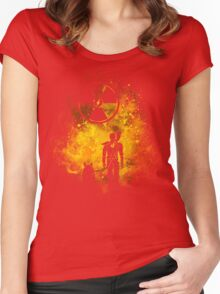 Wasteland Art Women's Fitted Scoop T-Shirt