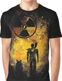Wasteland Art Graphic T-Shirt