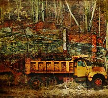 Abandoned Kiln and Truck by PineSinger