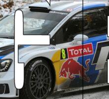 Sébastien Ogier - World Champion Sticker
