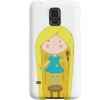 Girl Samsung Galaxy Case/Skin