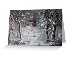 A Winter Haven Greeting Card