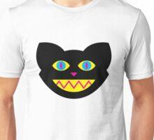 CMYBlack Cat head Unisex T-Shirt