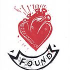 Found Love tattoo inspired valentine by craftyhag