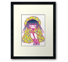 Princess Jellyfish Framed Print