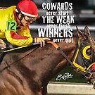 Winners Never Quit by Emily Peak