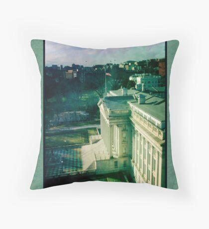 U. S. Treasury Building Throw Pillow