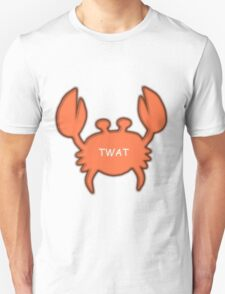 Twat Crab (as seen in Derek) T-Shirt