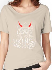 CROWLEY IS MY KING Women's Relaxed Fit T-Shirt