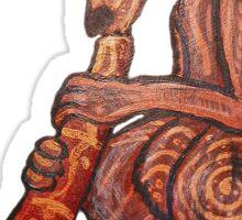 Didgeridoo Kangaroo Sticker