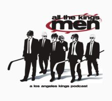 All The Kings Men Podcast Logo One Piece - Short Sleeve