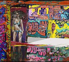 Urban Graffiti by Phyllis Dixon