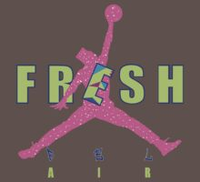 Bel air 5s shirt-Jordan V shirt Fresh prince jumpman Kids Clothes
