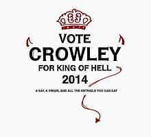 Vote Crowley (black) Unisex T-Shirt