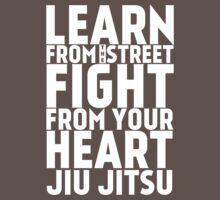 Learn from the Street Jiu Jitsu One Piece - Short Sleeve