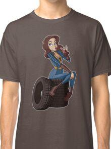 Nuka Cola Vault Girl Classic T-Shirt