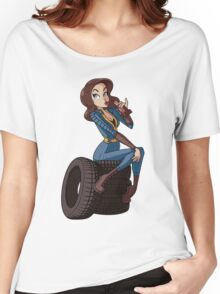 Nuka Cola Vault Girl Women's Relaxed Fit T-Shirt