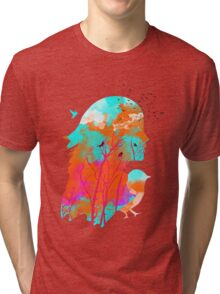 Autumn Nightfall Tri-blend T-Shirt