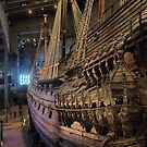 The Vasa  ( 1 )  from the stern by Larry Lingard-Davis