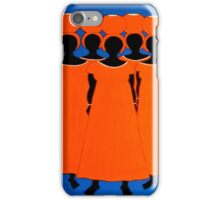 Phone Case 2 - Caribbean Orange iPhone Case/Skin