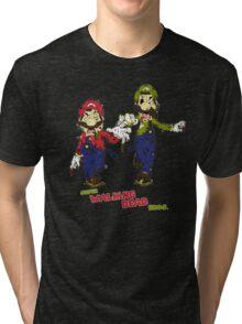 Super Walking Dead Bros. Tri-blend T-Shirt