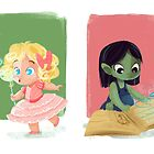 Young Witches by tinymallet