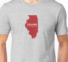 Donald Trump 2016 State Pride - Illinois Unisex T-Shirt