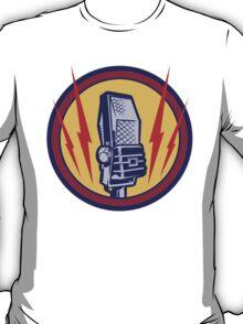 Vintage Microphone T-Shirt
