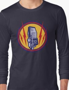 Vintage Microphone Long Sleeve T-Shirt