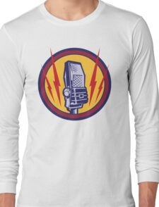 Vintage Microphone Long Sleeve T-Shirt