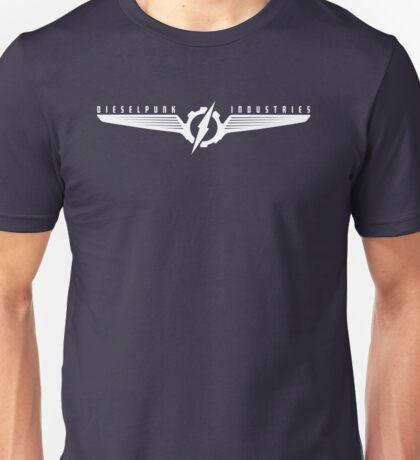 Dieselpunk Industries White Logo Unisex T-Shirt