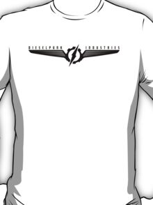 Dieselpunk Industries Black Logo  T-Shirt