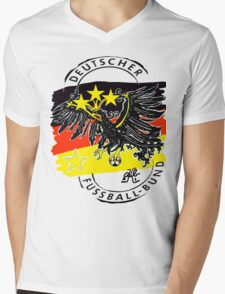 Germany (Deutschland) Quest for World Cup 2014 Mens V-Neck T-Shirt