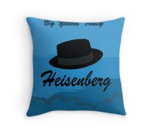 Breaking Bad poster  Throw Pillow