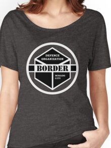 Anime - Border Emblem Women's Relaxed Fit T-Shirt