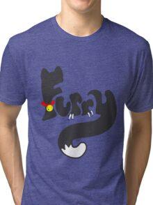 Cat Furry Tri-blend T-Shirt