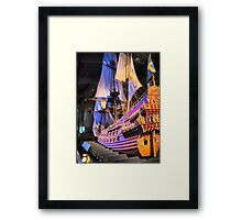 "The Vasa""  ( 4 ) A Scale Model Framed Print"