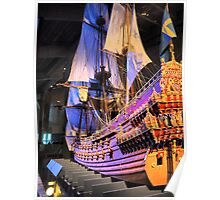 """The Vasa""""  ( 4 ) A Scale Model Poster"""