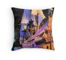 "The Vasa""  ( 4 ) A Scale Model Throw Pillow"