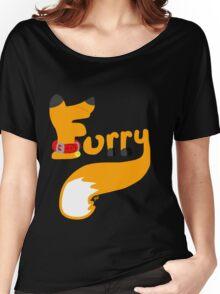 Fox Furry Women's Relaxed Fit T-Shirt