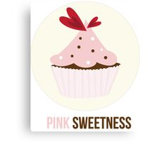 Pink Sweetness Canvas Print