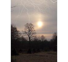 Faux Lightning Photographic Print